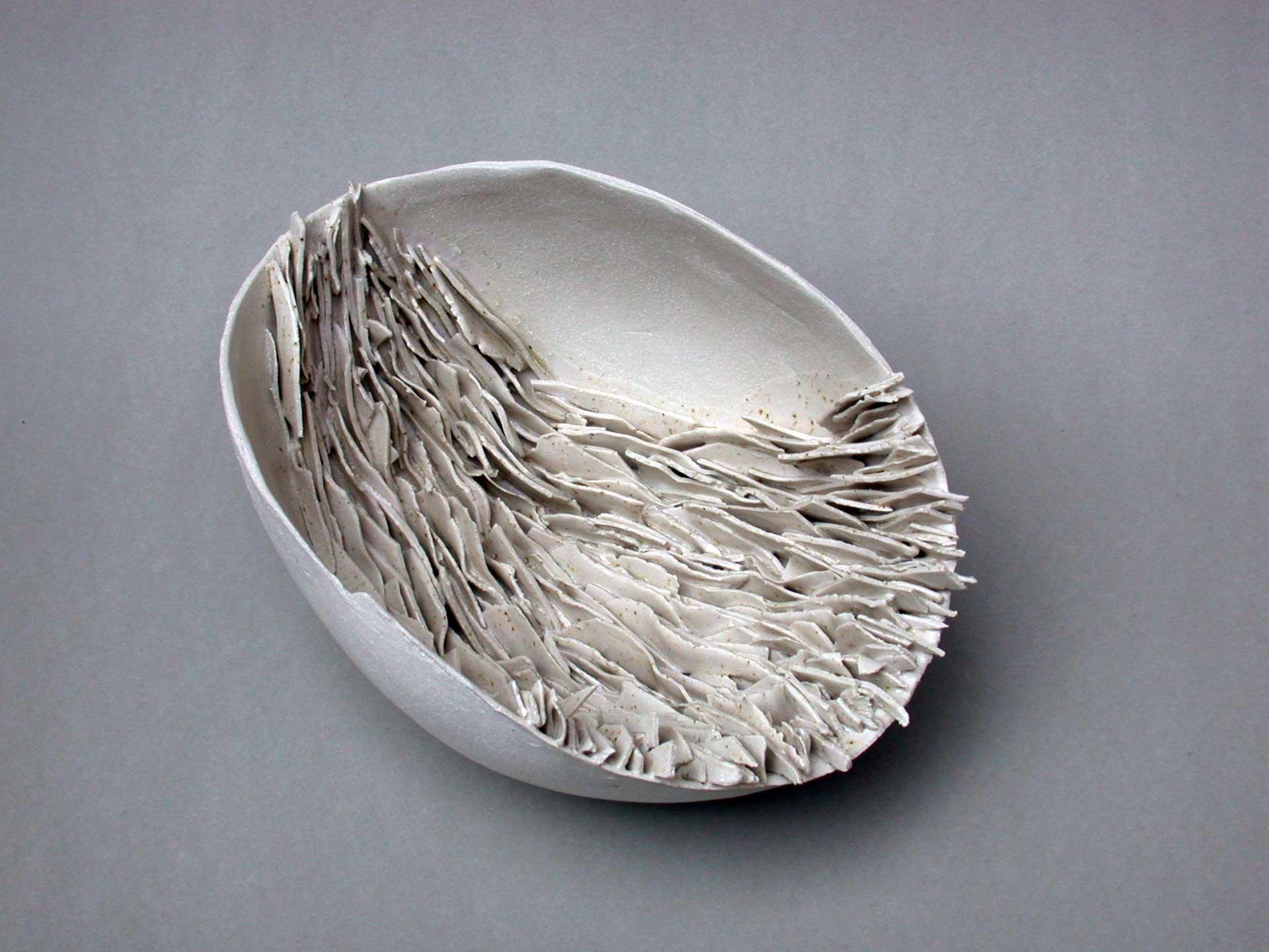 porcellana, smalto alla cenere - 2004